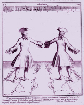 "Kellom Tomlinson :  ""The Art of dancing"" London 1735"