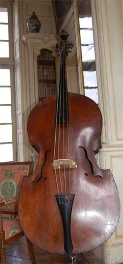 Double Basse de Eberle, Prague - 1750